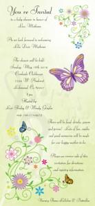 Little Girl Invitation