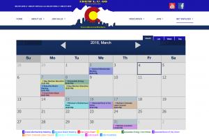 IBEW Calendar of Events