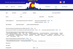 IBEW Application Form