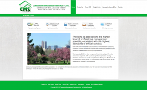 CMS Home Page