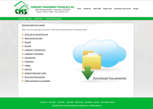 Documents and Forms Download page