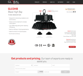 Global Energy & Lighting Website